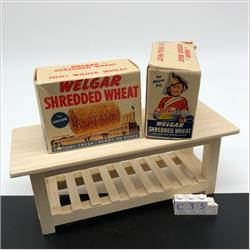 Miniatures - Cartons - Shredded Wheat (C35) - http://www.hilarypagetoys.com