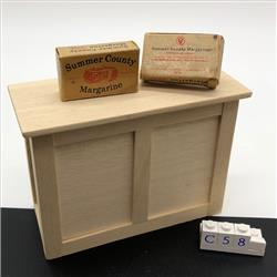 Miniatures - Cartons - Summer County Margarine (C58) - http://www.hilarypagetoys.com