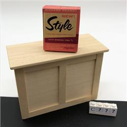 Miniatures - Cartons - Richard Hodnut Style - http://www.hilarypagetoys.com