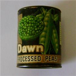 Miniatures - Tins - Dawn Processed Peas (T92) - http://www.hilarypagetoys.com