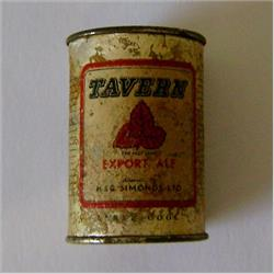 Miniatures - Tins - Tavern Export Ale (T70) - http://www.hilarypagetoys.com
