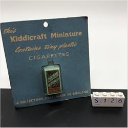 Miniatures - Specials - Packet of 10 Wills Woodbines Cigarettes (S126) - http://www.hilarypagetoys.com