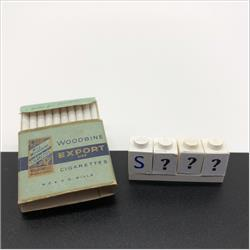 Miniatures - Specials - Packet of 20 Wills Woodbine Export Cigarettes - http://www.hilarypagetoys.com