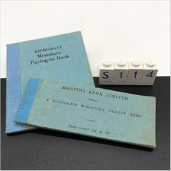 Miniatures - Specials - Martins Paying-in Book (S114) - http://www.hilarypagetoys.com