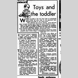 Press Cuttings - 1948 - http://www.hilarypagetoys.com