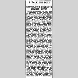 Press Cuttings - 1949 - http://www.hilarypagetoys.com