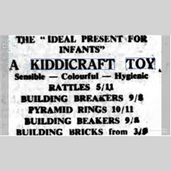 Press Cuttings - 1950 - http://www.hilarypagetoys.com