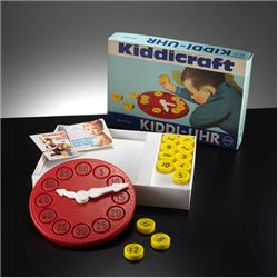 Kiddicraft Germany Products - 34-02 Kiddi-uhr - http://www.hilarypagetoys.com