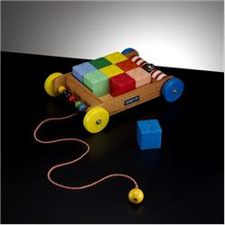 1963-1977 ~ 2-, 3-, 4-,5- & 6- Prefix Ref. No's - 5-118 Ringalong Truck (with 9 Large Interlocking Building Cubes) - http://www.hilarypagetoys.com
