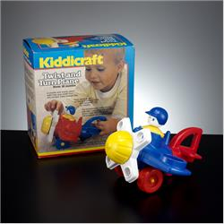 1978-1991~ K01-, K02-, K03-, K05- Ref. No's - K02 286 Twist and Turn Plane - http://www.hilarypagetoys.com