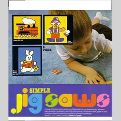 1978-1991~ K01-, K02-, K03-, K05- Ref. No's - K01 532 Simple Jigsaw - Engine (8pcs) - http://www.hilarypagetoys.com