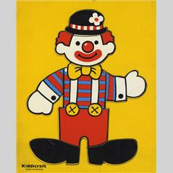 1978-1991~ K01-, K02-, K03-, K05- Ref. No's - K01 533 Simple Jigsaw - Clown (8pcs) - http://www.hilarypagetoys.com