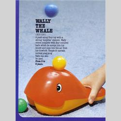 1978-1991~ K01-, K02-, K03-, K05- Ref. No's - K03 506 Wally the Whale - http://www.hilarypagetoys.com