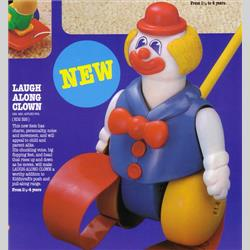 1978-1991~ K01-, K02-, K03-, K05- Ref. No's - K02 326 Laugh Along Clown - http://www.hilarypagetoys.com