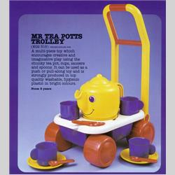 1978-1991~ K01-, K02-, K03-, K05- Ref. No's - K02 315 Mr Tea Potts Trolley - http://www.hilarypagetoys.com