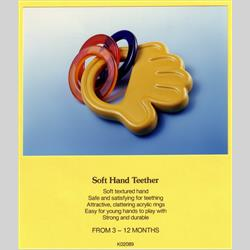 K02 089 Soft Hand Teether