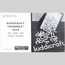 1937-1938 Kiddicraft Catalogue