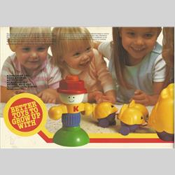 Catalogues and Price Lists - United Kingdom - 1985 Kiddicraft Catalogue - http://www.hilarypagetoys.com