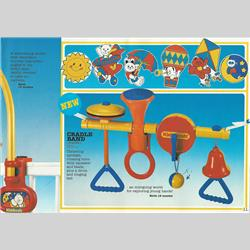 Catalogues and Price Lists - United Kingdom - 1986 Kiddicraft New Product Preview - http://www.hilarypagetoys.com