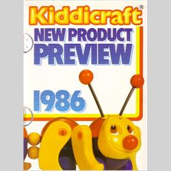 1986 Kiddicraft New Product Preview