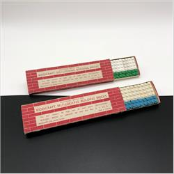 1932-1962 ~ K & F Prefix Ref. No's - K316 Self-Locking Building Bricks - Additional bricks (Small) - 12 whole & 12 half bricks - http://www.hilarypagetoys.com