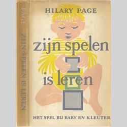Hilary Page Books - Playtime in the First Five Years - Dutch Edition - 1954 - http://www.hilarypagetoys.com