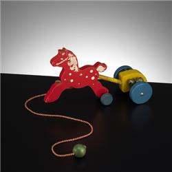 1932-1962 ~ K & F Prefix Ref. No's - F110 Forest Toys - Chariot - http://www.hilarypagetoys.com