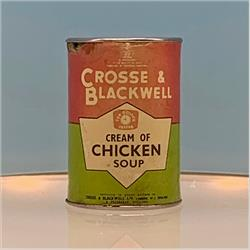 Miniatures - Tins - Crosse & Blackwell Chicken Soup (T20) - Red Label - http://www.hilarypagetoys.com