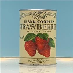Miniatures - Tins - Frank Cooper's Strawberries (T11) - http://www.hilarypagetoys.com