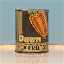 Miniatures - Tins - Dawn Carrots (T89) - http://www.hilarypagetoys.com