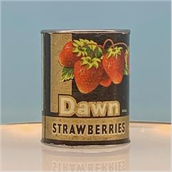 Miniatures - Tins - Dawn Strawberries (T87) - http://www.hilarypagetoys.com