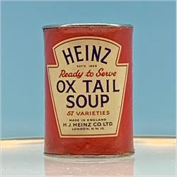Miniatures - Tins - Heinz Ox Tail Soup (T31) - http://www.hilarypagetoys.com