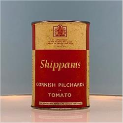 Miniatures - Tins - Shippam's Pilchards in Tomato (T71) - http://www.hilarypagetoys.com