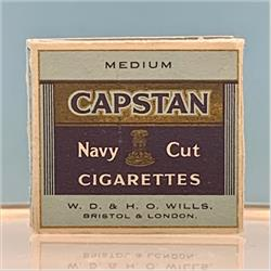Miniatures - Specials - Packet of 20 Capstan Medium Cigarettes (S125) - http://www.hilarypagetoys.com