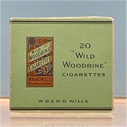 Miniatures - Specials - Packet of 20 Wills Woodbines Cigarettes (S129) - http://www.hilarypagetoys.com