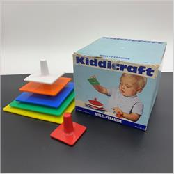Kiddicraft France Products - 32-11 Multi-Pyramide - http://www.hilarypagetoys.com