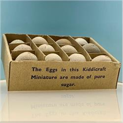 Miniatures - Specials - Postal Box of Eggs (S101) Postage 2 1/2d Version - http://www.hilarypagetoys.com