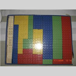 1932-1962 ~ K & F Prefix Ref. No's - K301 Self-Locking Building Bricks - Set 3 - 75 bricks (Large), 15 doors and windows - http://www.hilarypagetoys.com