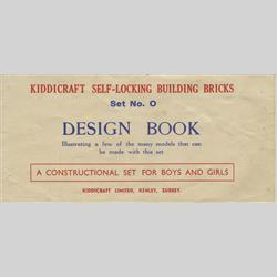 Instruction Books - Set No. 0 - Self Locking Building Bricks - http://www.hilarypagetoys.com