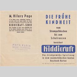 Catalogues and Price Lists - Germany - 1958 Catalogue and Price List - http://www.hilarypagetoys.com
