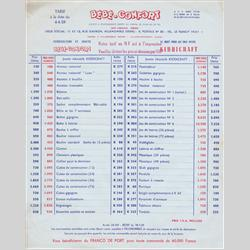 Catalogues and Price Lists - France - 1959 FR - Price Lists - http://www.hilarypagetoys.com