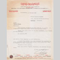 Customer Communication - France - 1960 FR - Customer Letter - http://www.hilarypagetoys.com