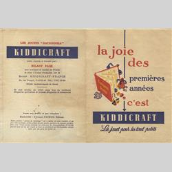 Catalogues and Price Lists - France - 1958 FR - Catalogue - http://www.hilarypagetoys.com